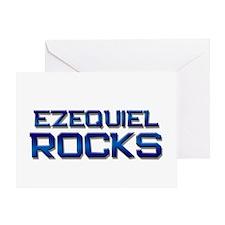 ezequiel rocks Greeting Card