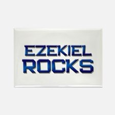 ezekiel rocks Rectangle Magnet