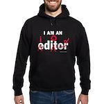 Editor Idiot Hoodie (dark)