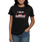 Editor Idiot Women's Dark T-Shirt