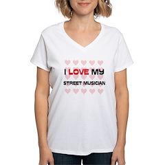 I Love My Street Musician Shirt