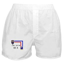 A Co. 6th Bn 502nd Inf Sign Boxer Shorts