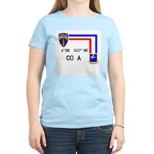 A Co. 6th Bn 502nd Inf Sign T-Shirt
