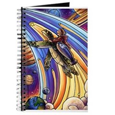 Cute Space turtle Journal