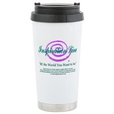 """""""BE the World You Want to See"""" TravelMug"""