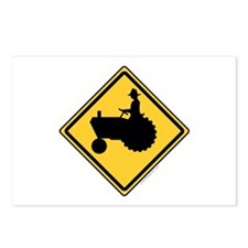 Tractor Sign Postcards (Package of 8)