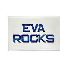 eva rocks Rectangle Magnet