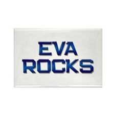 eva rocks Rectangle Magnet (10 pack)