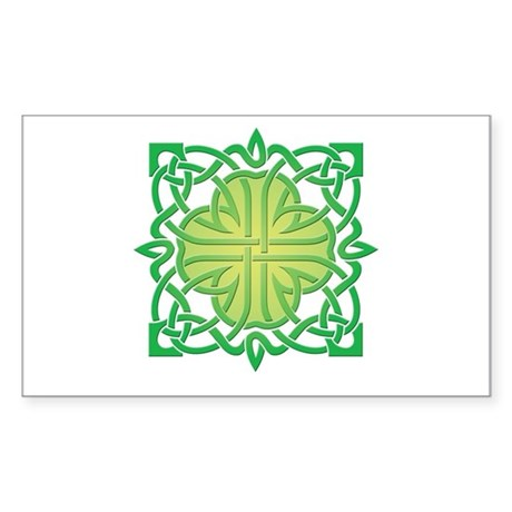 Celtic Knot Rectangle Decal by ShirtSack