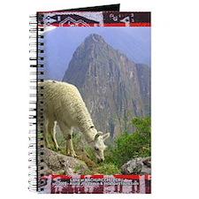 Lama Grazing at Machupicchu - Journal