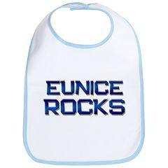 eunice rocks Bib
