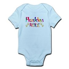 Husky Infant Bodysuit