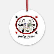 Bridge Power Ornament (Round)