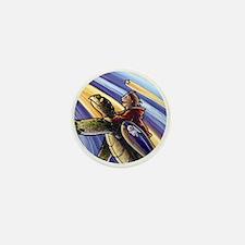 Space Turtle III - Mini Button