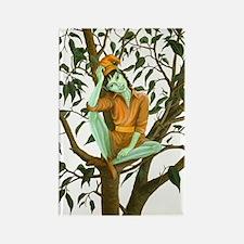 Eflyn - Ficus Tree Elf - Rectangle Magnet