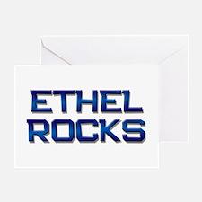 ethel rocks Greeting Card