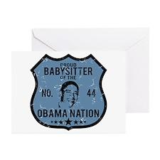Babysitter Obama Nation Greeting Cards (Pk of 10)