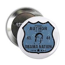 """Author Obama Nation 2.25"""" Button"""