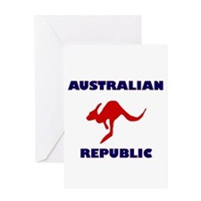 Australian Republic Greeting Card