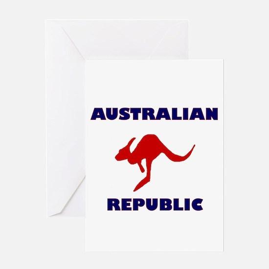 Australian Republic Greeting Card