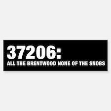 37206: All the Brentwood none Bumper Bumper Bumper Sticker
