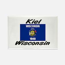 Kiel Wisconsin Rectangle Magnet