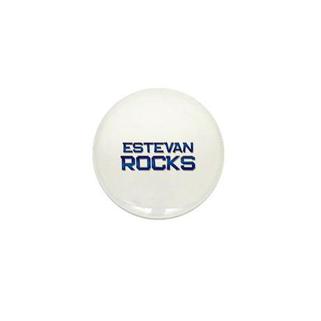 estevan rocks Mini Button