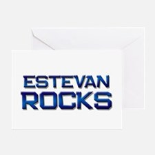 estevan rocks Greeting Card