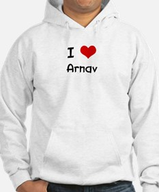 I LOVE ARNAV Jumper Hoody