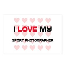 I Love My Sport Photographer Postcards (Package of
