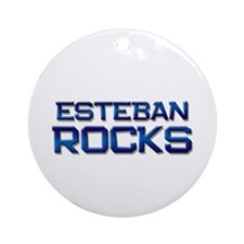 esteban rocks Ornament (Round)