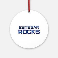 esteban rocks Ornament (Round)