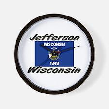 Jefferson Wisconsin Wall Clock