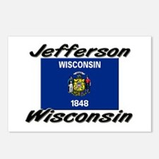 Jefferson Wisconsin Postcards (Package of 8)