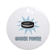 Cookie Power-1 Ornament (Round)