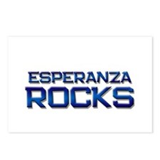 esperanza rocks Postcards (Package of 8)
