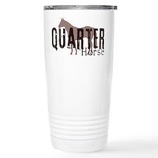 Quarter Horse Ceramic Travel Mug