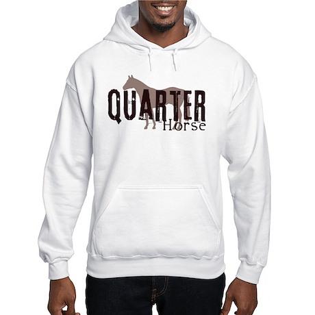 Quarter Horse Hooded Sweatshirt
