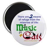 Cats music Magnets