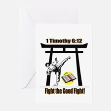 Fight the Good FightGreeting Cards (Pk of 10)
