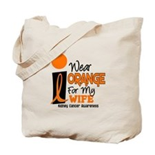 I Wear Orange For My Wife 9 KC Tote Bag