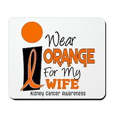 I Wear Orange For My Wife 9 KC Mousepad