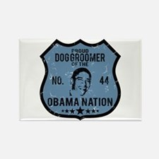 Dog Groomer Obama Nation Rectangle Magnet