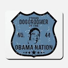 Dog Groomer Obama Nation Mousepad