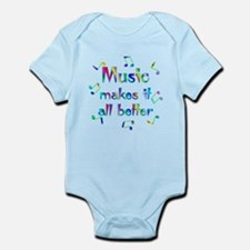 Music Infant Bodysuit