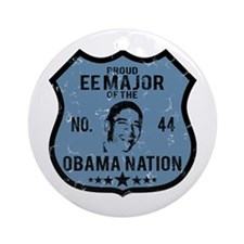 EE Major Obama Nation Ornament (Round)