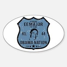 EE Major Obama Nation Oval Decal