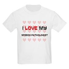 I Love My Speech Pathologist T-Shirt