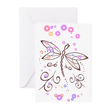 Dragonfly Daydream Greeting Cards (Pk of 20)
