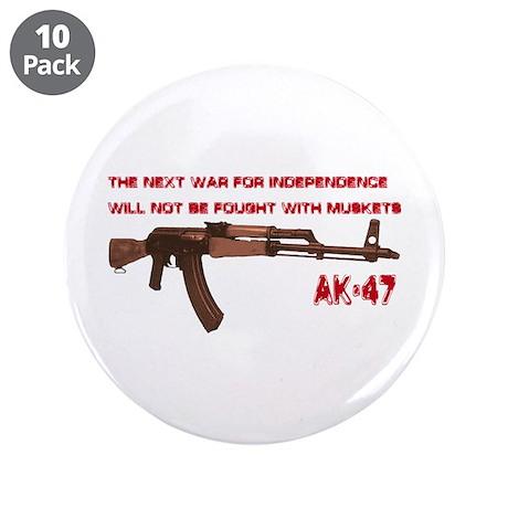 """AK-47 3.5"""" Button (10 pack)"""